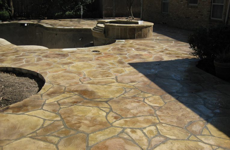 Why Is It Essential To Install The Stamped Concrete Patio?