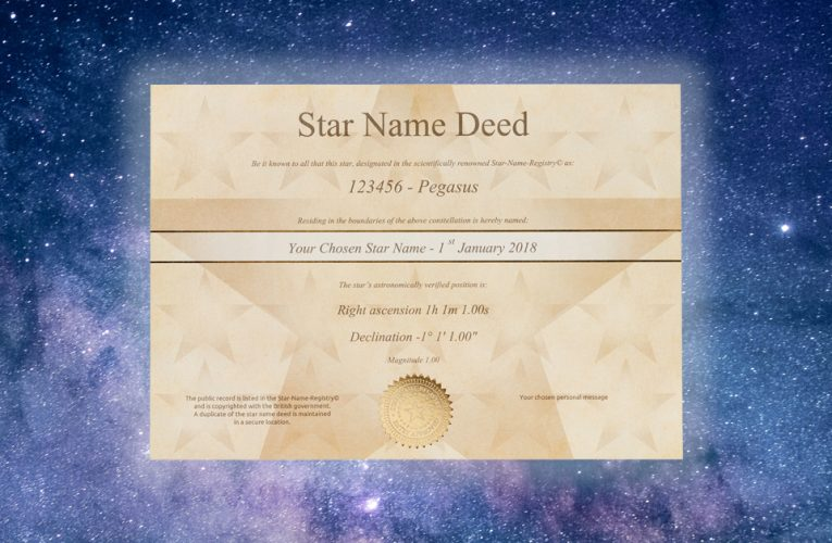 3 Reasons Why You Should Name A Star For Someone
