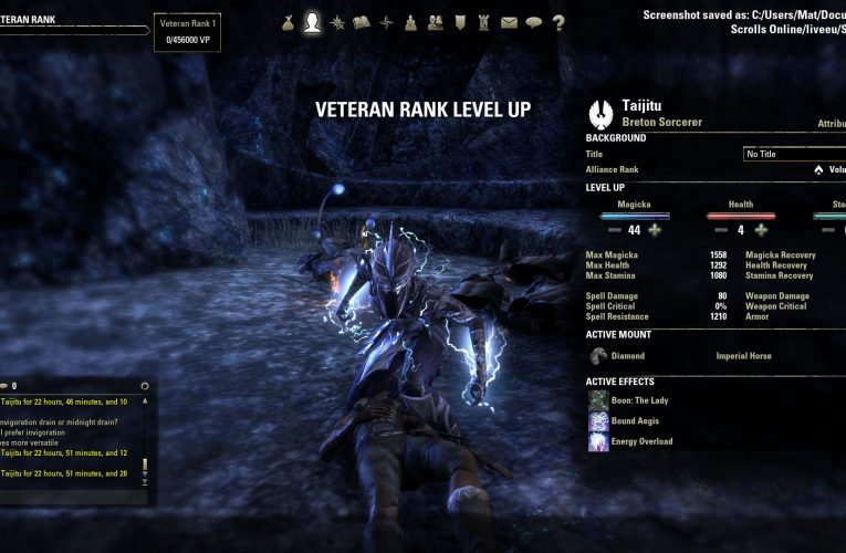 Give Wings To Your Gameplay With Eso Levelling Guide