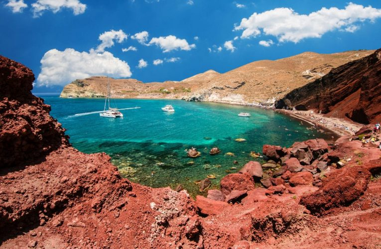 A Guide To The Best Beaches In Santorini